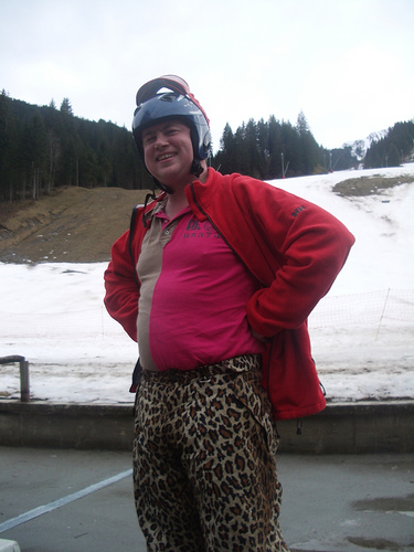 The Hilarity Of Ski Fashion Hit The Slopes